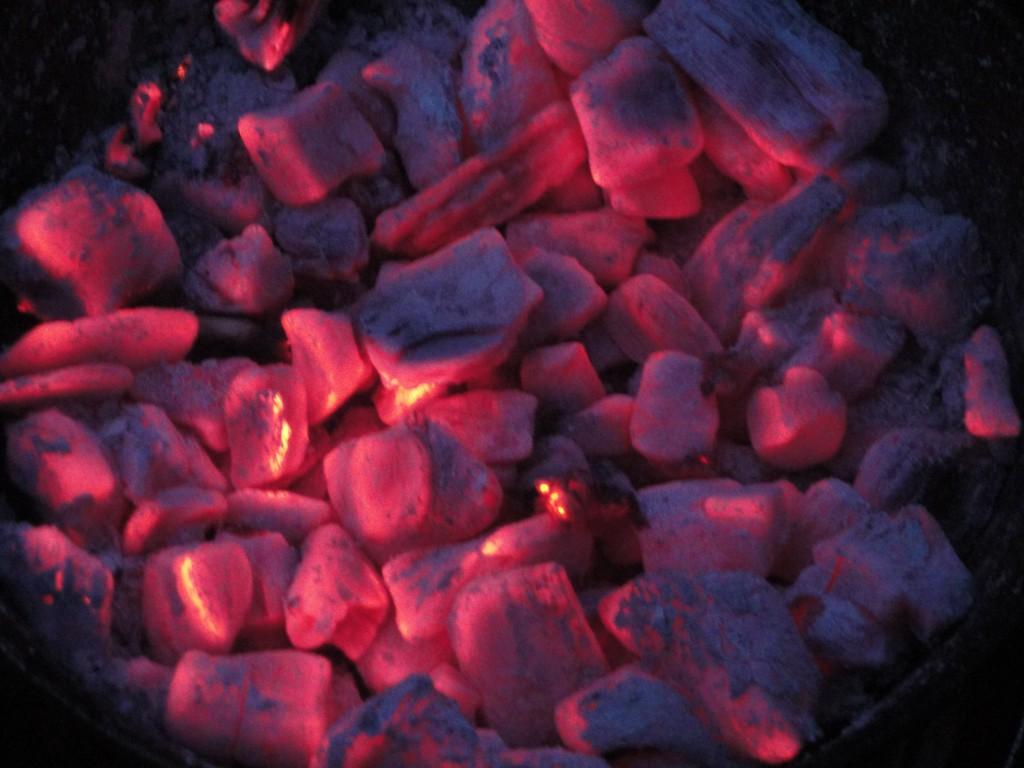 Hot coals - Taken in Glen Nevis